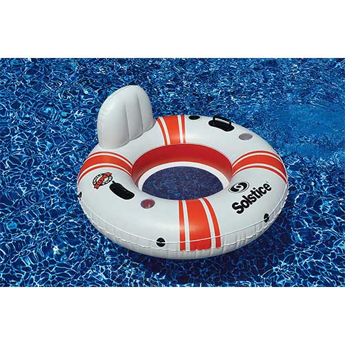 8. Solstice Super Chill River Tube Single Inflatable Raft