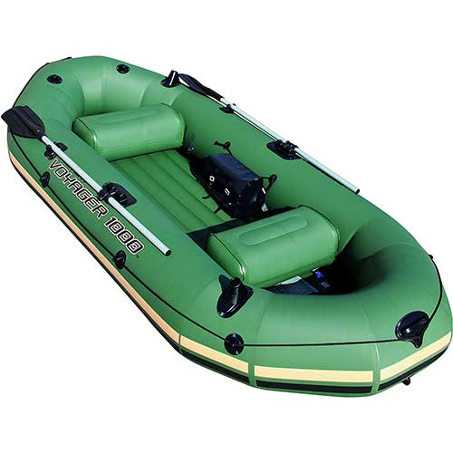 Best Inflatable Rafts 2. Bestway Hydro-Force Voyager Inflatable Boat