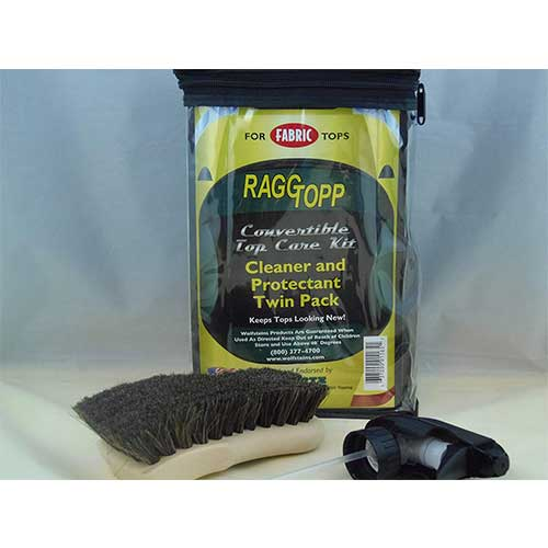 6. RaggTopp Fabric Convertible Top Protectant Kit with Horse Hair Brush