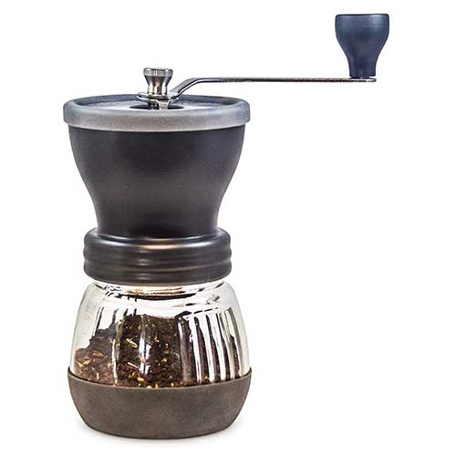 Best Cheap Burr Grinders 5. Khaw-Fee HG1B Manual Coffee Grinder with Conical Ceramic Burr - Because Hand Ground Coffee Beans Taste Best