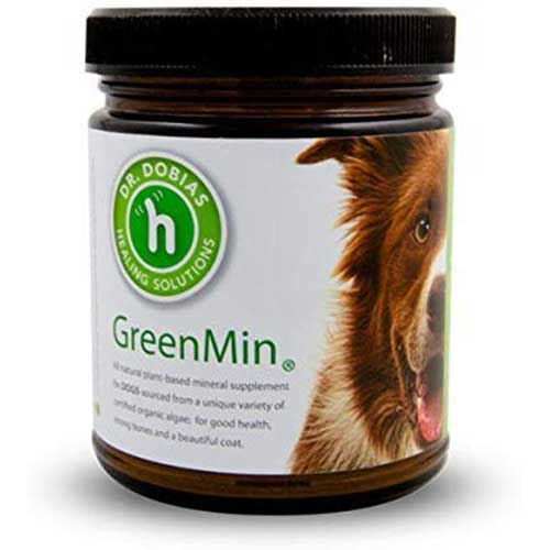 10. DR. DOBIAS GreenMin Dogs - All Natural Mineral Supplement