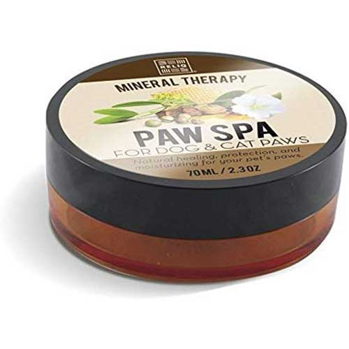 9. RELIQ natural mineral PAW SPA cream for dogs and cats