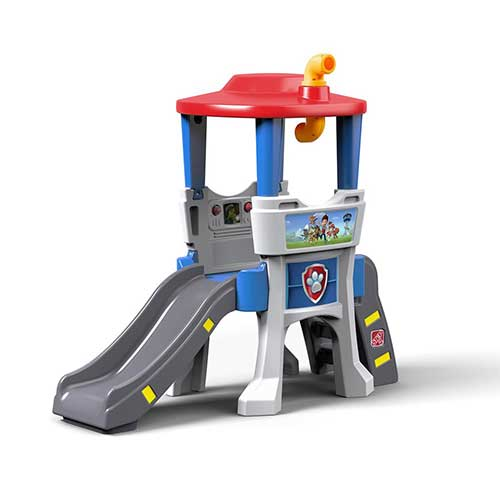 7. Step2 Paw Patrol Lookout Climber Slide Playset