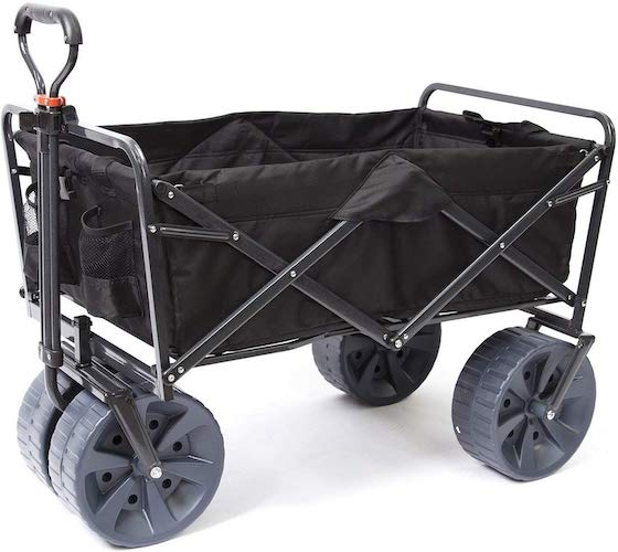 4. Heavy Duty Mac Sports Collapsible Cart
