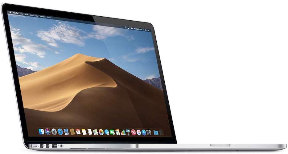 1. Apple MacBook Pro 15in Core i7 2.5GHz Retina (MGXC2LL/A), 16GB Memory, 512GB Solid State Drive (Renewed)