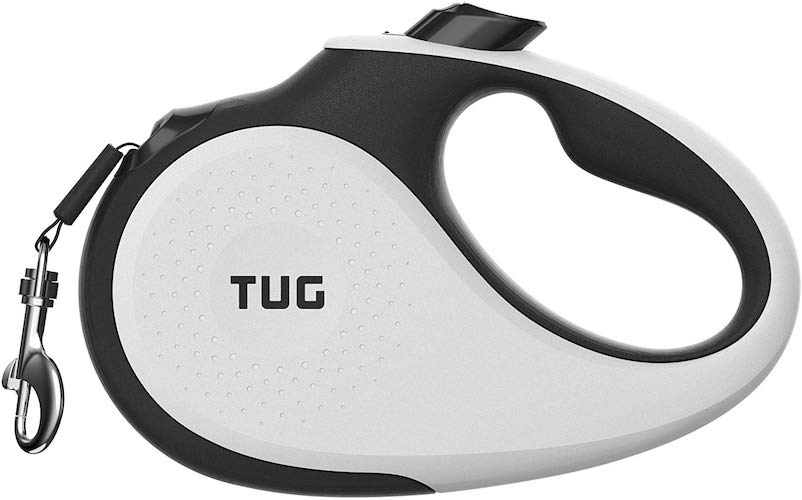 1. TUG Patented 360° Tangle-Free, Heavy Duty Retractable Dog Leash