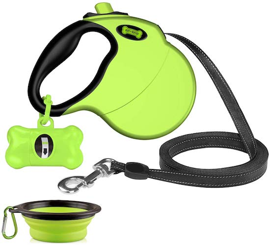6. Ruff 'n Ruffus Retractable Dog Leash