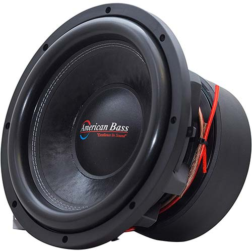 4. American Bass Usa HD 15D1 4000 Watt Max Dual 1 Ohm Subwoofer