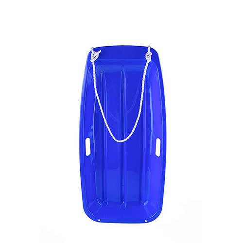 4. OUTDOOR NATION Downhill Sprinter Toboggan Snow Sled Durable with 2 Handles Pull Rope