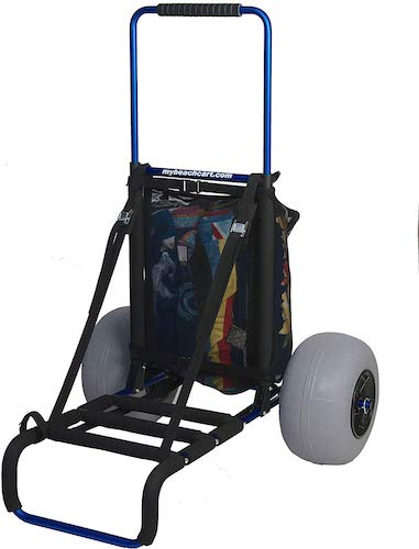 8. Mybeachcart Beach Foldable Cart