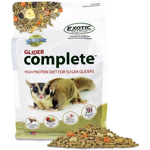 1. Glider Complete - Healthy High Protein Nutritionally Complete Staple Diet Sugar Glider Food