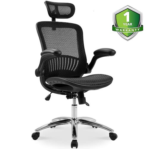 4. Merax Ergonomic Mesh Adjustable Home Desk Chair Office Chair Modern New Design Reclining Chair