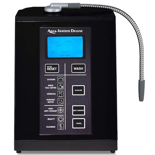 3. Aqua Ionizer Deluxe 9.5 Anti-Oxidant Boost Water Ionizer | Up to -880mV ORP | 4000 Liters Per Filter