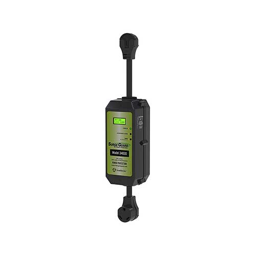 9. Surge Guard 34830 Portable Model with LCD Display - 30 Amp