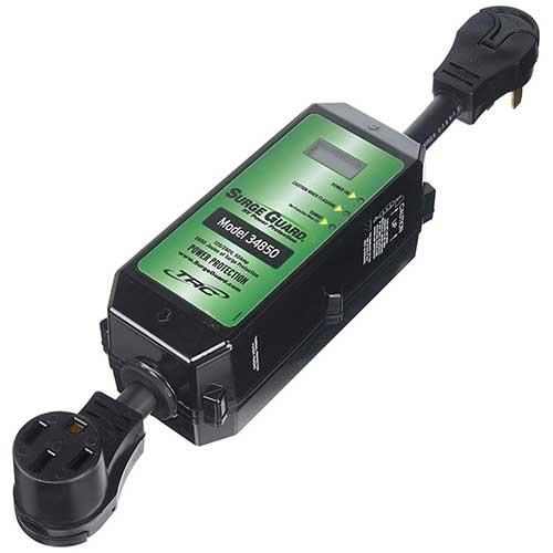 3. Surge Guard 34850 Portable Model with LCD Display - 50 Amp