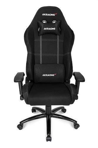 1. AKRacing Core Series EX Gaming Chair with High Backrest, Recliner, Swivel, Tilt, Rocker and Seat- Black