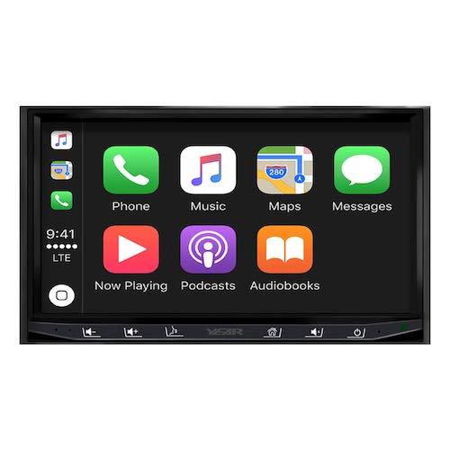 2. ATOTO Year Series in-Dash Double Din Digital Media Car Stereo - SA102 CarPlay & Android Auto Receiver w/Bluetooth, AM/FM Radio Tuner,USB Video & Audio,and More