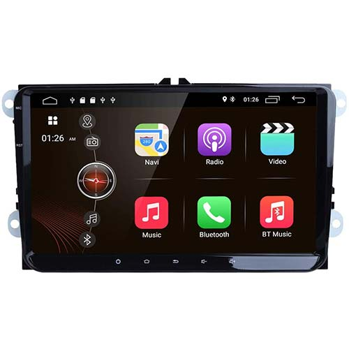 10. Android 9.0 Car Stereo Radio 9 Inch with Bluetooth Split Screen and PIP Multitasking