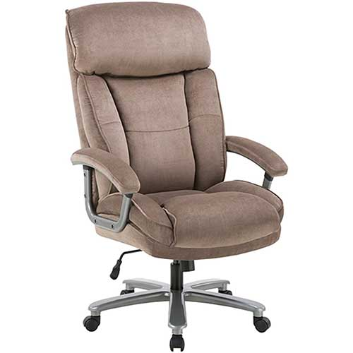 10. CLATINA Ergonomic Big & Tall Executive Office Chair