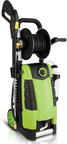 10. Highsell 3800PSI Electric Pressure Washer, MAX 2.8GPM Electric Power Washer 1800W High Pressure Washer