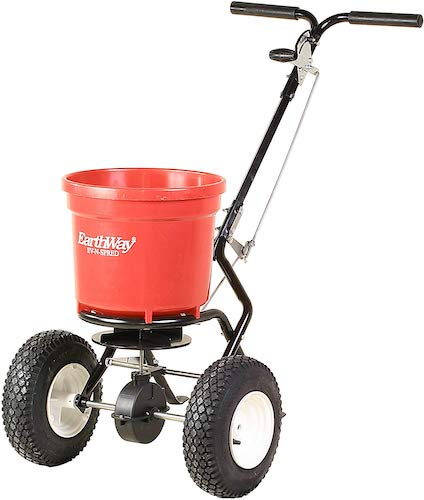 4. Earthway 2150 Commercial 50-Pound Walk-Behind Broadcast Spreader