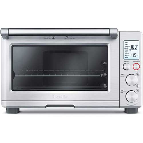 1. Breville BOV800XL Smart Oven 1800-Watt Convection Toaster Oven