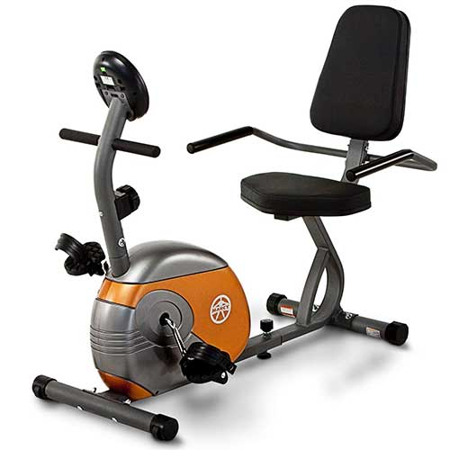 5. Marcy Recumbent Exercise Bike