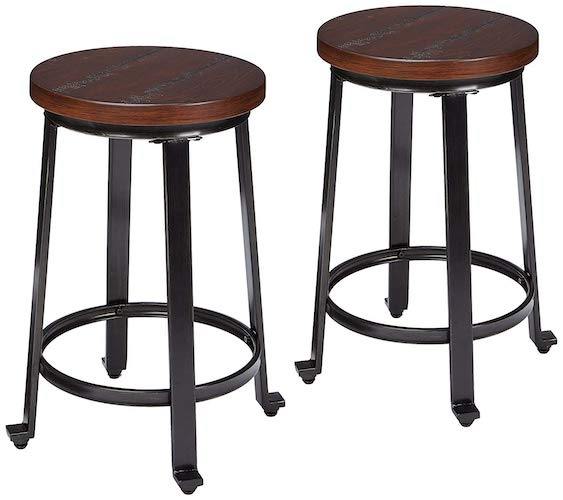 6. Ashley Furniture Signature Design - Challiman Bar Stool
