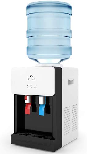 3. Avalon Premium Hot/Cold Top Loading Countertop Water Cooler Dispenser