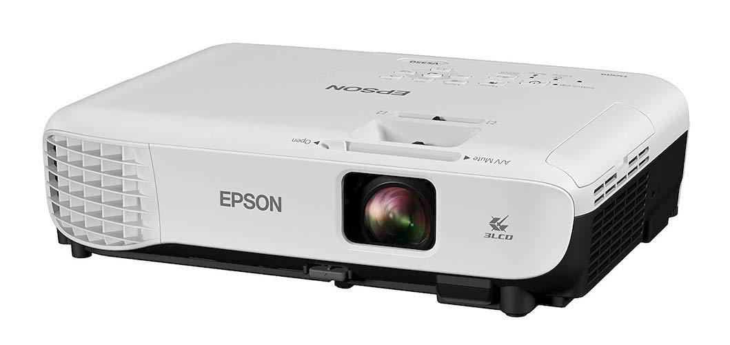 4. Epson VS350 XGA 3,300 lumens color brightness (color light output) 3,300 lumens white brightness (white light output) HDMI 3LCD projector