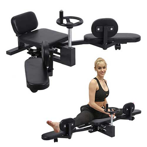 8. Homgrace Pro Leg Stretch Machine, Heavy Duty Steel Frame Leg Stretcher Training Leg Splitter Gym Gear Fitness Equipment