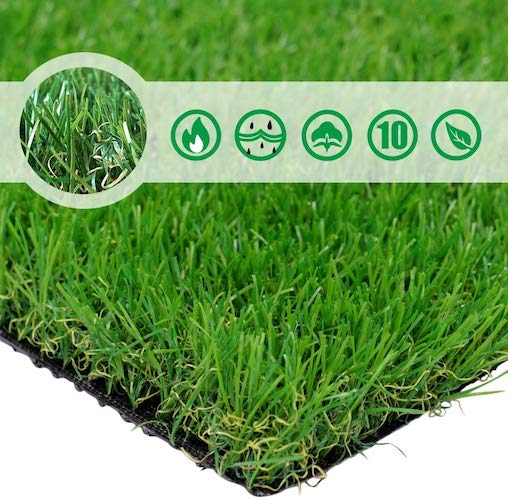 2. PET GROW PG1-4 Artificial Grass Rug 6.5 FT x10 FT (65 Square FT)