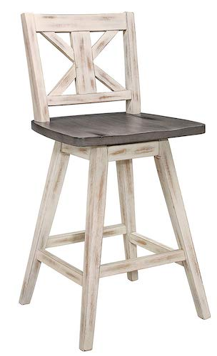 9. Homelegance Amsonia Counter Height Swivel Stool