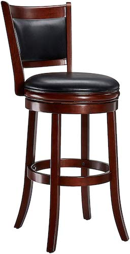 5. Ball & Cast Jayden Wooden Swivel Barstool
