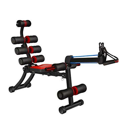 10. SYOSIN 22 in 1 Sit-Up Exerciser Ab Machine Workout Fitness Equipment Home Gym