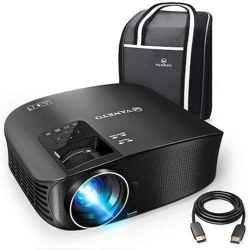 3. VANKYO Leisure 510 Full HD Projector with 4000 Lux, Video Projector with 200