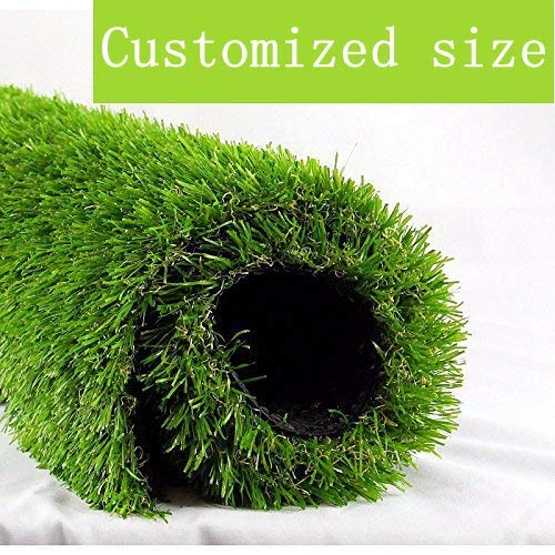 8. ALTRUISTIC Artificial Grass 8ft x 8ft (64 Square Feet) Realistic Fake Grass Deluxe Turf Synthetic Thick Lawn Pet Turf