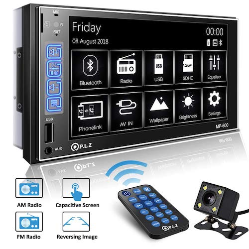 Top 10 Best Touch Screen Car Stereo Radios in 2019 Reviews