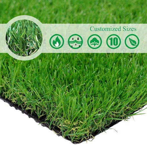8. Petgrow · Realistic Artificial Grass Turf -5FTX10FT (50 Square FT)
