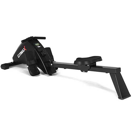 1. GOPLUS Magnetic Rowing Machine Foldable Exercise Rower