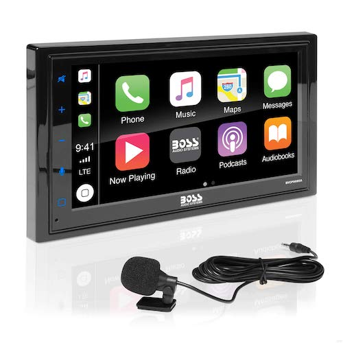 6. BOSS Audio BVCP9685A Apple Carplay Android Auto Car Multimedia Player
