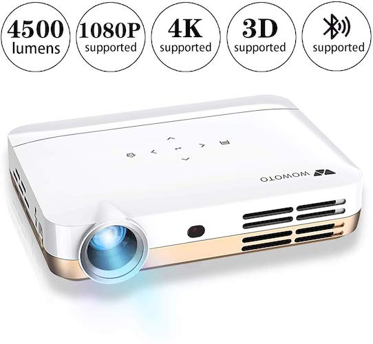 1. WOWOTO H10 Mini Video Projector