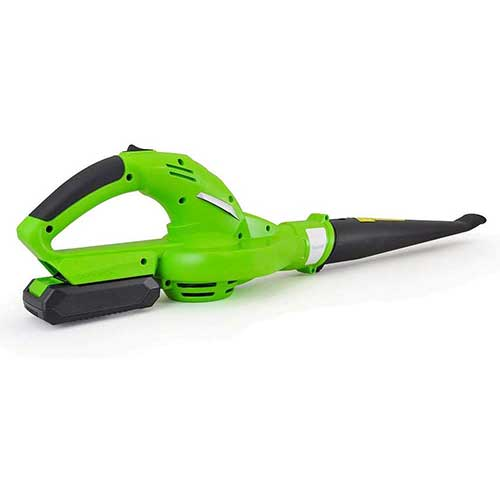 6. Updated SereneLife Electric Leaf Blower, Cordless, Lightweight