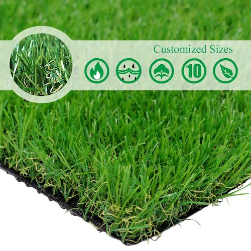 6. Customized Sizes Artificial Grass Turf 28In X 40In