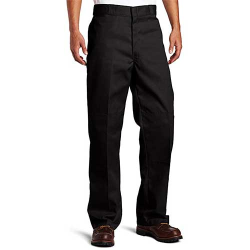 Best Work Pants for Construction Workers 10. Dickies Men's Loose Fit Double Knee Work Pant