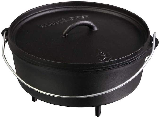 3. AmazonBasics Pre-Seasoned Cast Iron Skillet