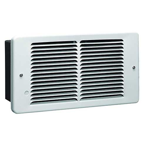 7. KING PAW2422-W 2250-Watt 240-Volt Pic-A-Watt Wall Heater, White,