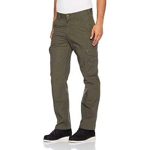 Best Work Pants for Construction Workers 6. Carhartt Men's Ripstop Cargo Work Pant