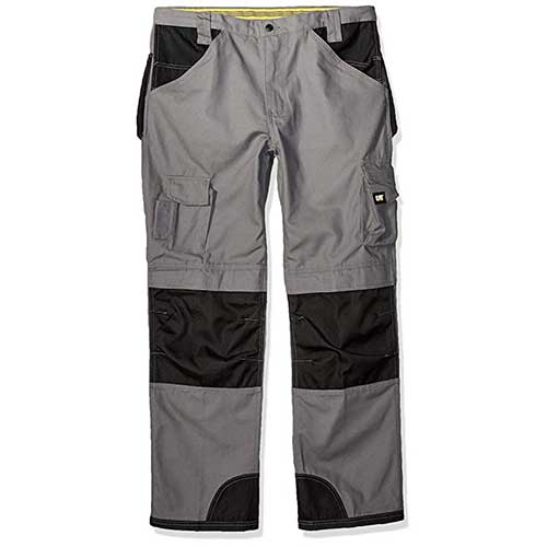 Best Work Pants for Construction Workers 2. Caterpillar Men's Trademark Pant (Regular and Big & Tall Sizes)