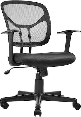 10. AmazonBasics Mid-Back Desk Office Chair